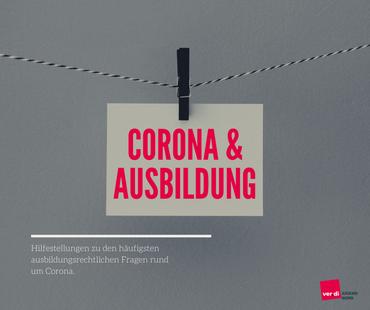 Ausbildung & Corona